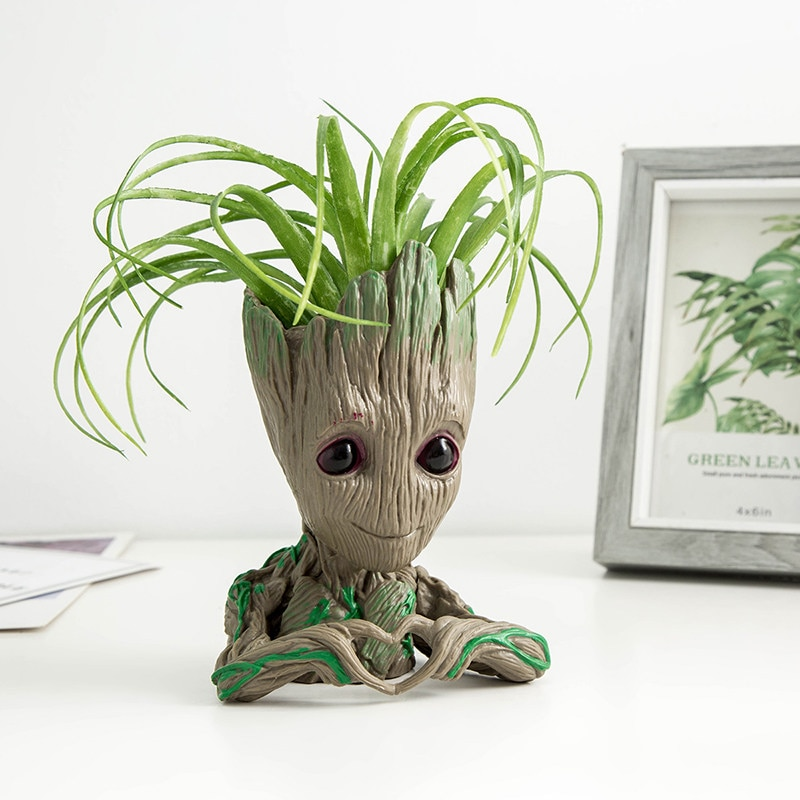 Home Decor Pen Box Groot Plant Pots Organizer Boxes Storage Containers Storage Flower Pot Multifunction Household Items