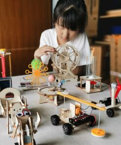 Fantacy Tecnology Inventions Education Science STEM Toys Electric Gifts Technology Diy Kit Craft for Kids STEAM
