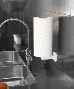 Tissue Holder Wall Mounted Roll Stand Waterproof Paper Holder for Kitchen and Bathroom Toilet Tissue Storage Rack Household item