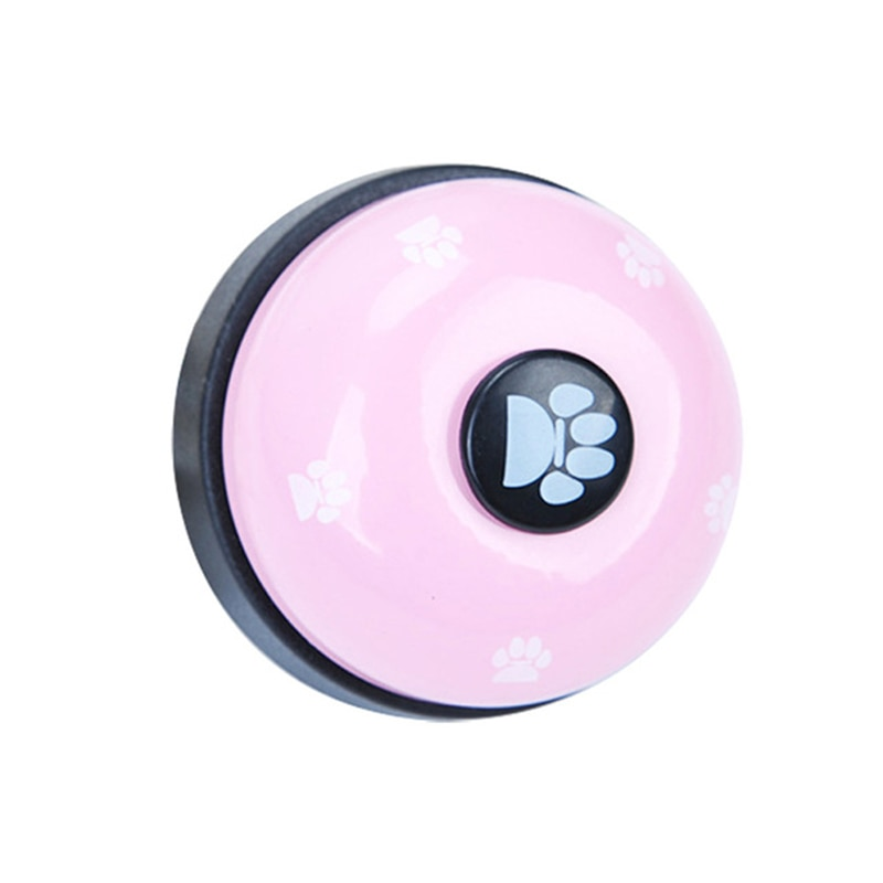 1 Pcs Dog Toy Pet Toy Training Bell Responder Puppy Feeding Metal Meal Bell Cat Dog Bell Pet Supplies Interactive Training