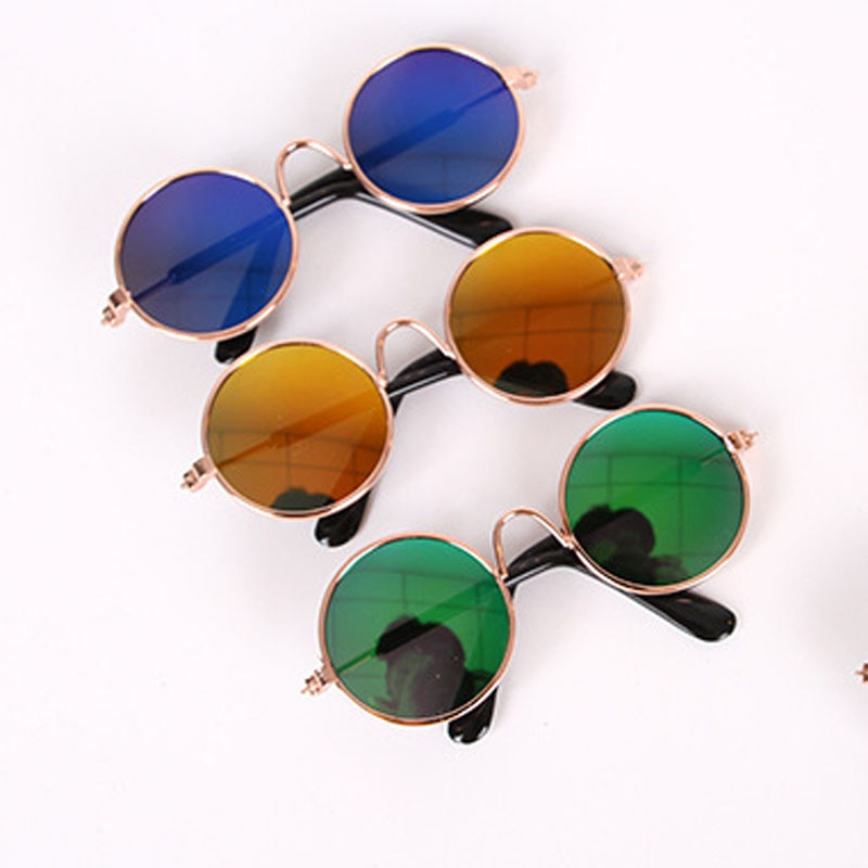 Pet Cat Glasses Dog Glasses Pet Products for Little Dog Cat Eye Wear Dog Sunglasses Photos Props Accessories Pet Supplies Toy