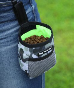 Outdoor Portable Training Dog Snack Bag Pet Supplies Strong Wear Resistance Large Capacity Puppy Products Waist Bag Durable
