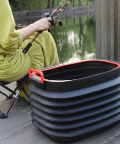 Portable Telescopic Storage Bucket Large Capicity Folding Basin Outdoor Camping Garden Watering Buckets Household Cleaning Tools