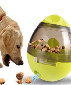 Pets Chew Toys Dog Leaking Food Ball Educational Molar Teeth Cleaner Tumbler Chewing Interactive Supplies For Cat Playing Eating