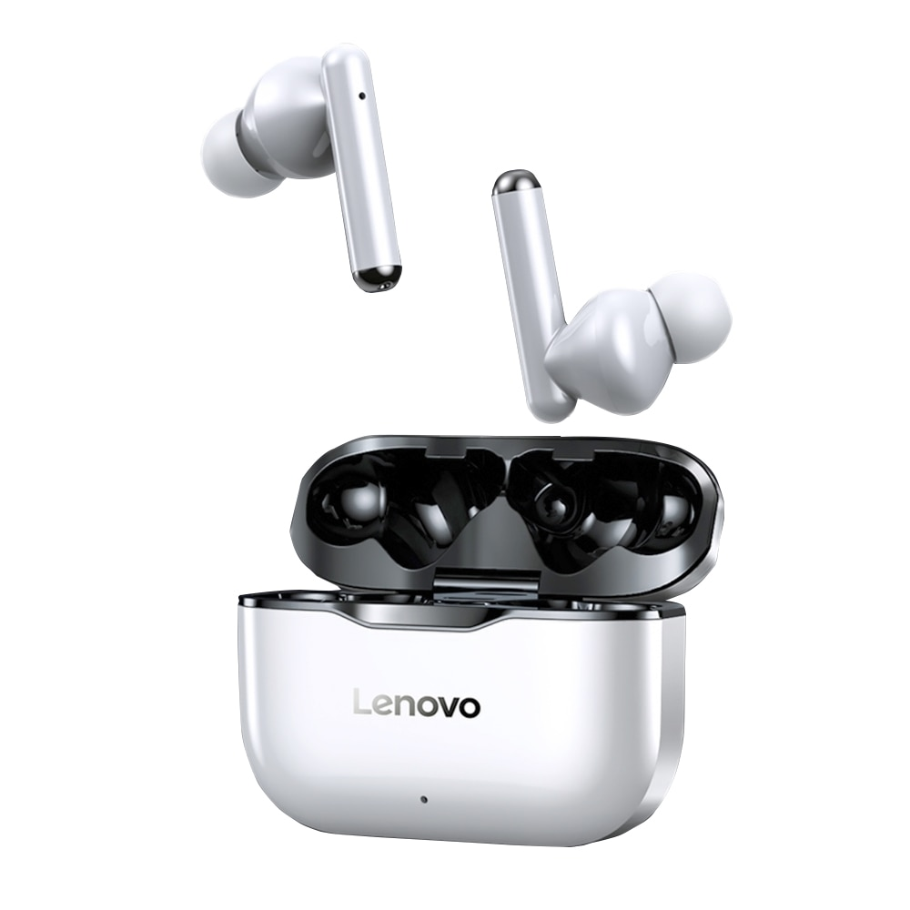 Lenovo LivePods LP1 True Wireless BT 5.0 Headphones with Touch Control Dual Hosts TWS Headset Noise Reduction Technology HD call
